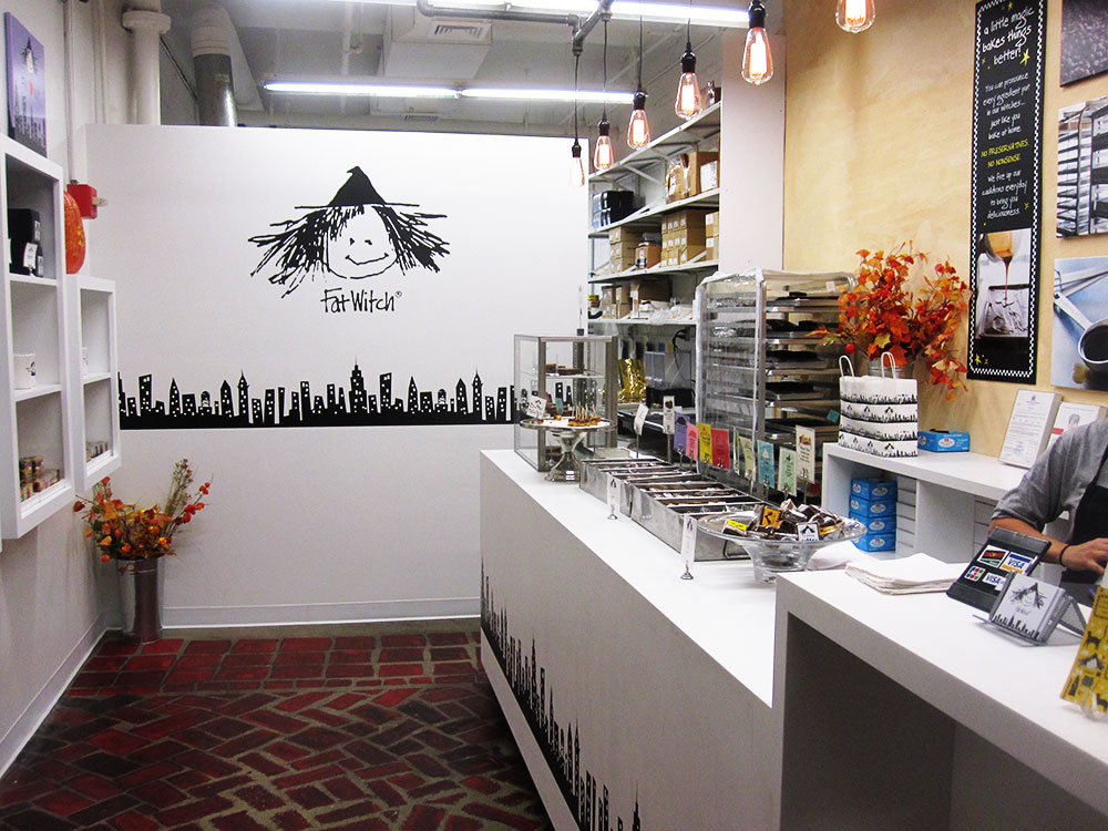 Fat Witch retail store interior : alternatives : branding and design agency based in nyc