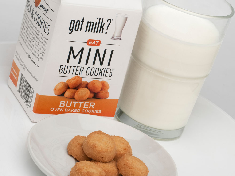 got milk? packaging based on style guide