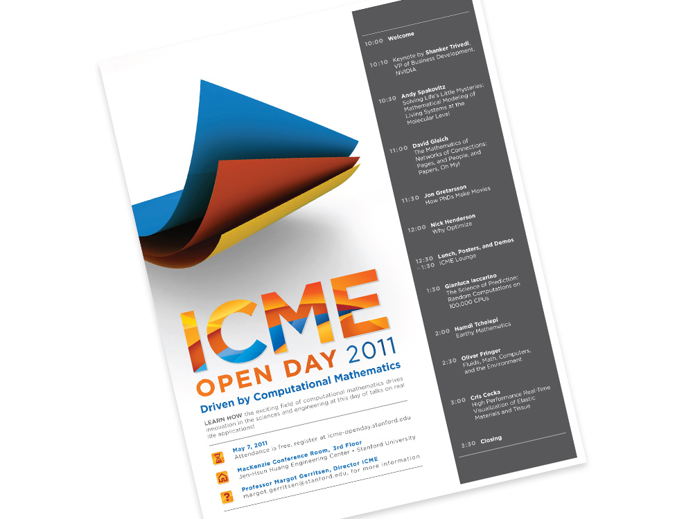 ICME event poster