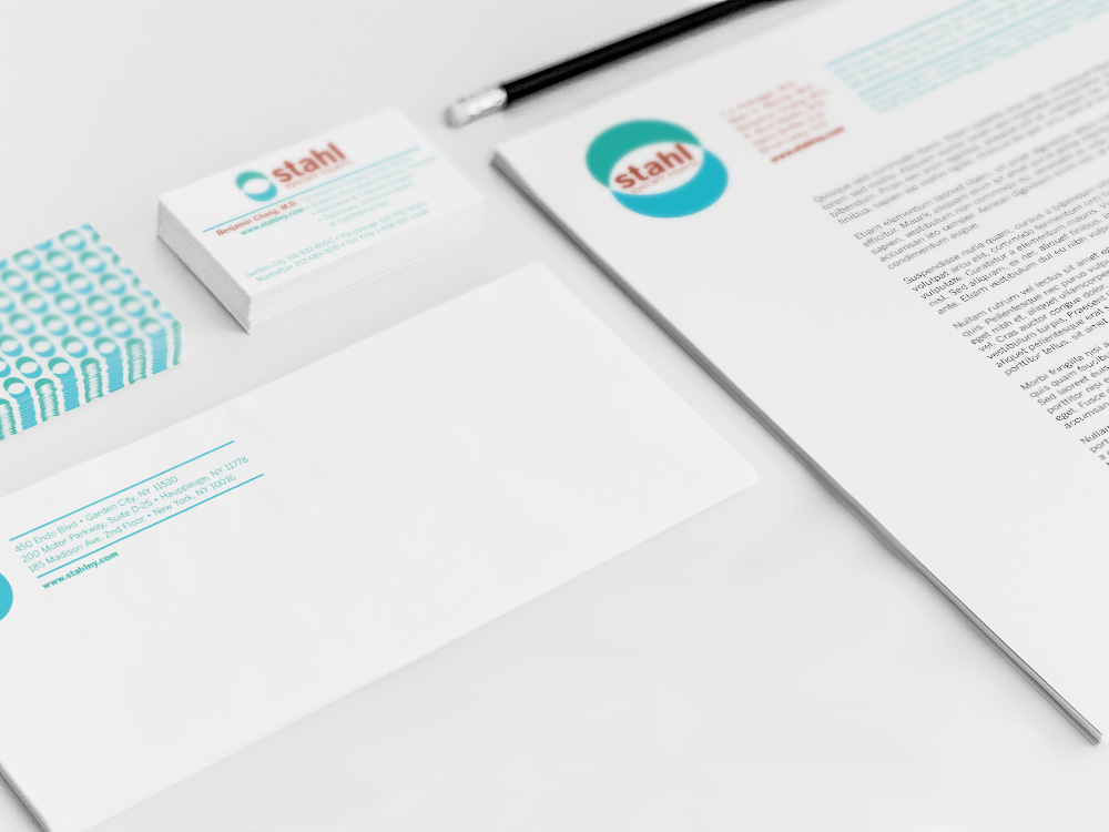 Stahl Eyecare : creating consistency in brand and messaging across all forms of client interaction