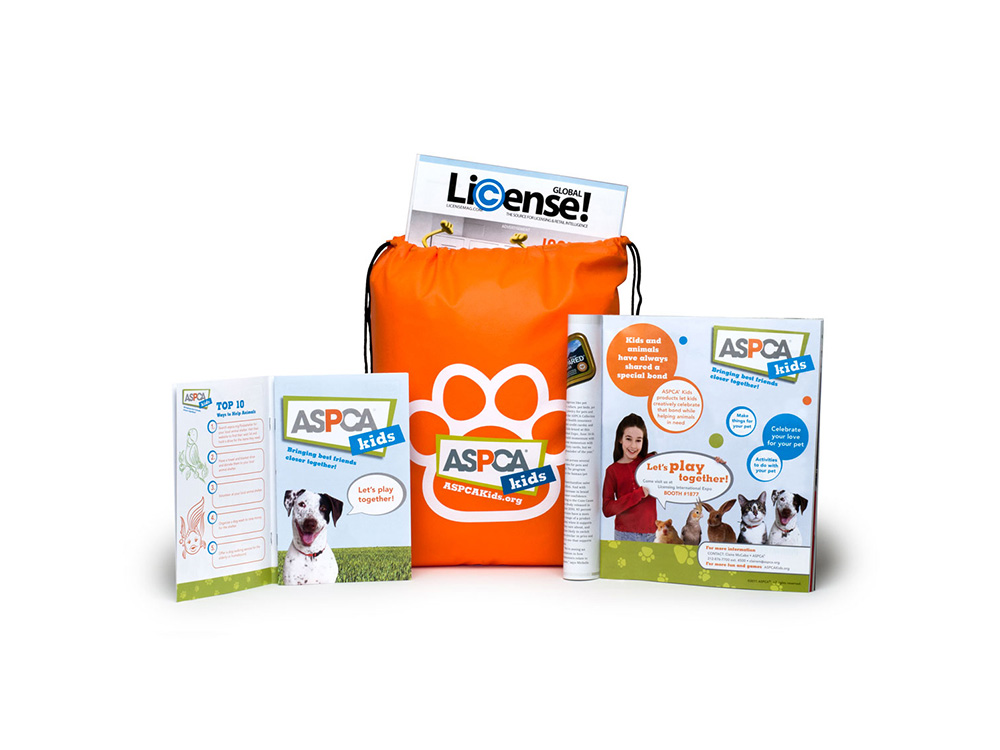 ASPCA Kids print, promotion and advertising
