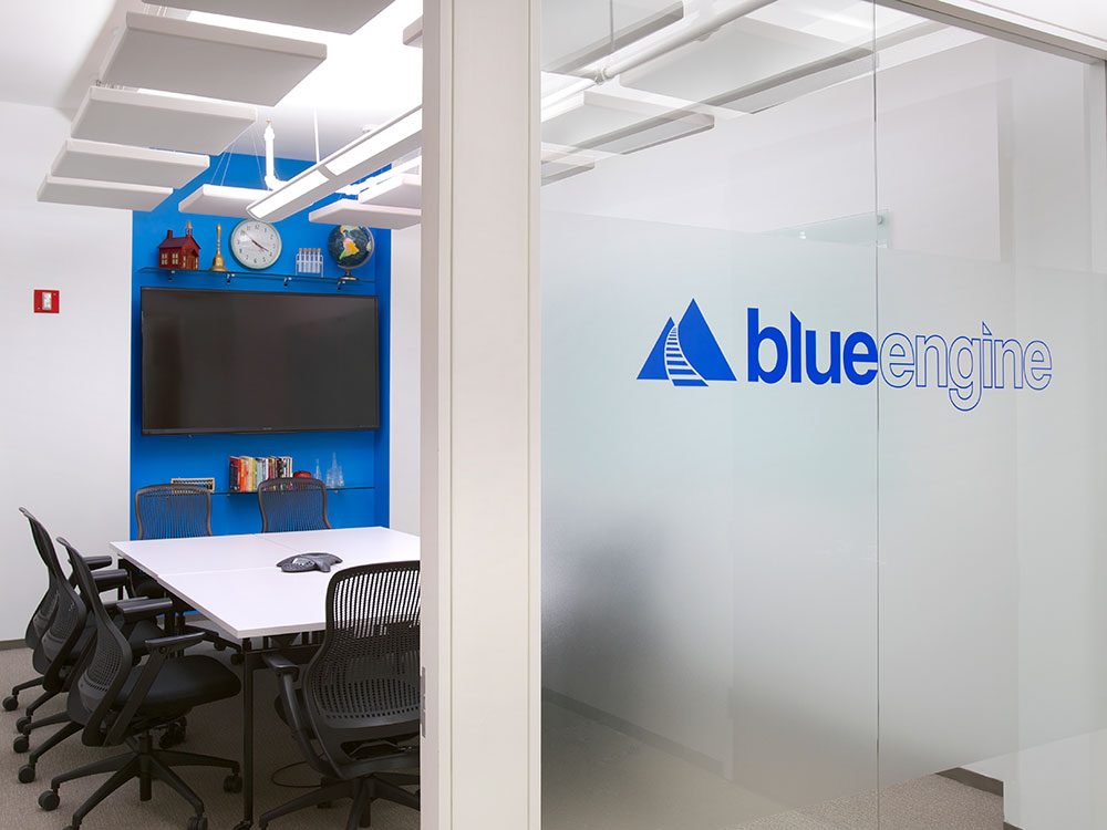 Blue Engine : serving low-income communities to increase academic rigor and prepare students for college