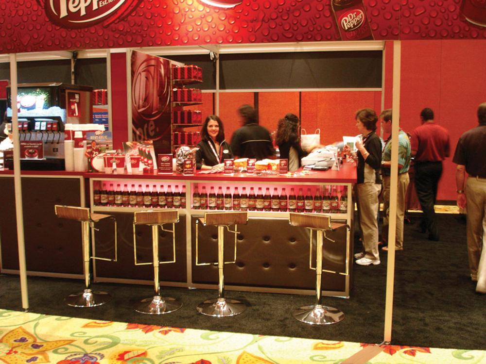 Dr Pepper beverage bar