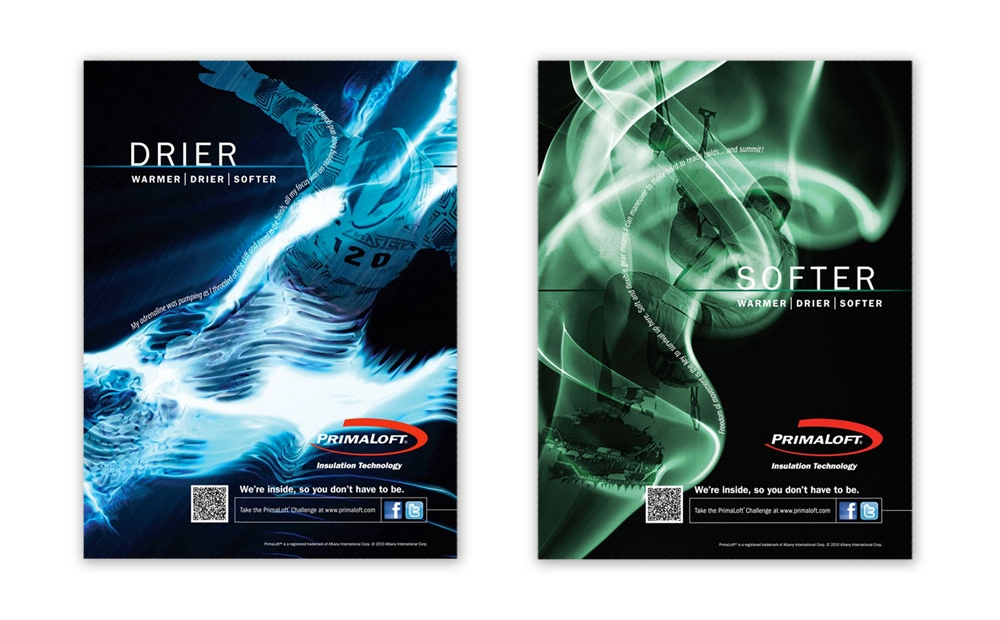 "PrimaLoft ""warmer 