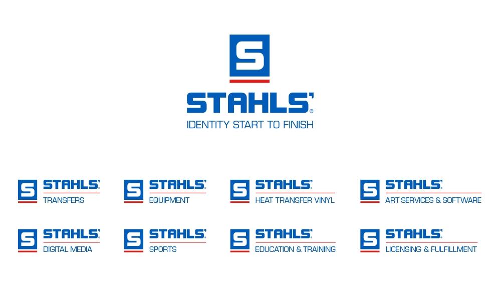 STAHLS' brand identity system