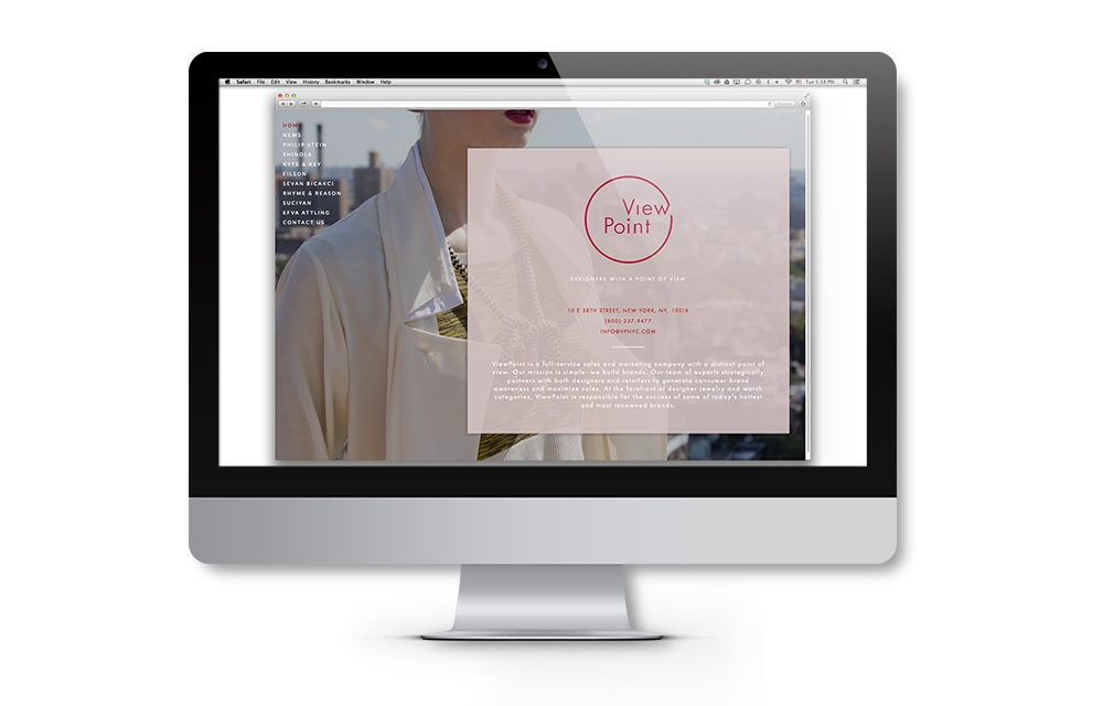 ViewPoint brand identity website application