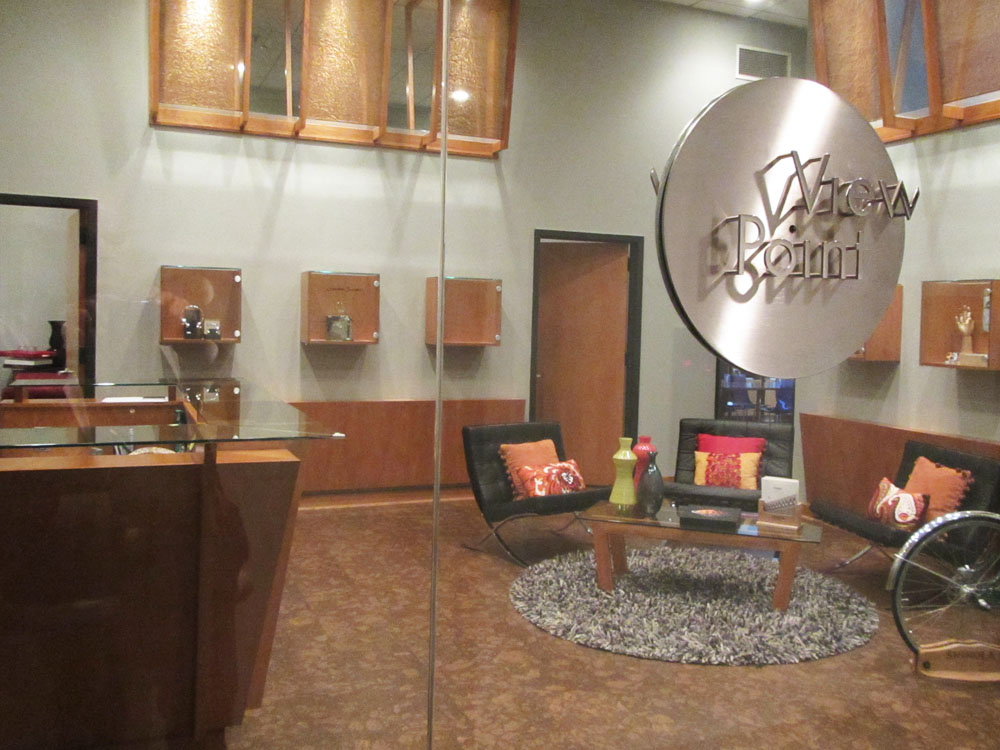 ViewPoint showroom interiors and signage