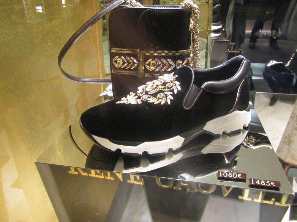 Jeweled sneakers