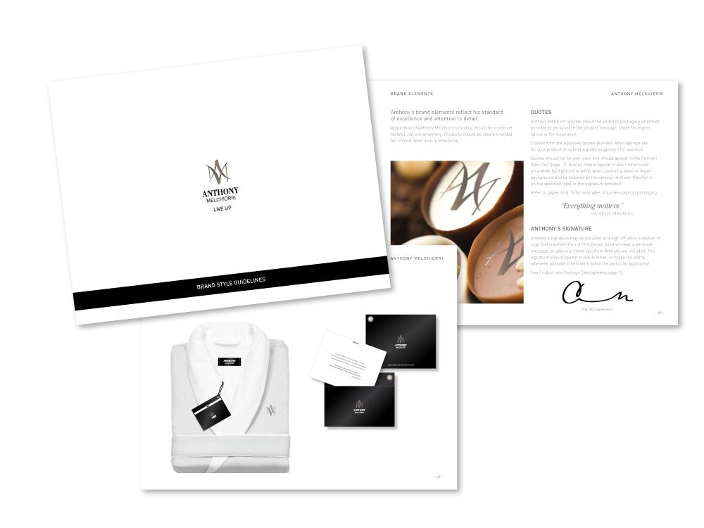 AM_Branding_StyleGuideAnthony Melchiorri brand style guidelines