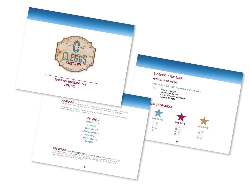 Clegg's Harbor Inn Branding and Marketing Plan : alternatives : branding and design agency based in nyc