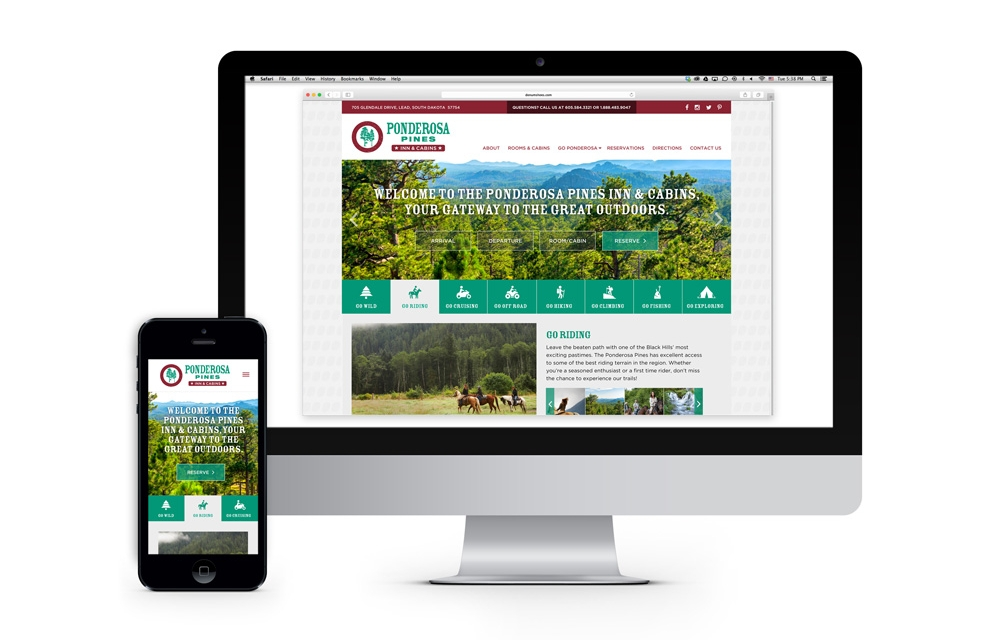 Proposed responsive website design