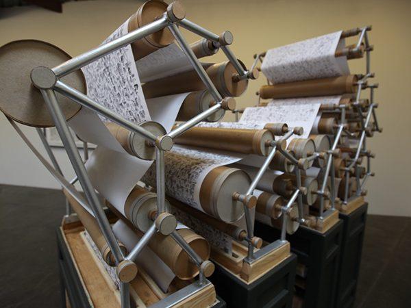 Printing Press Sculpture : Kiel Johnson