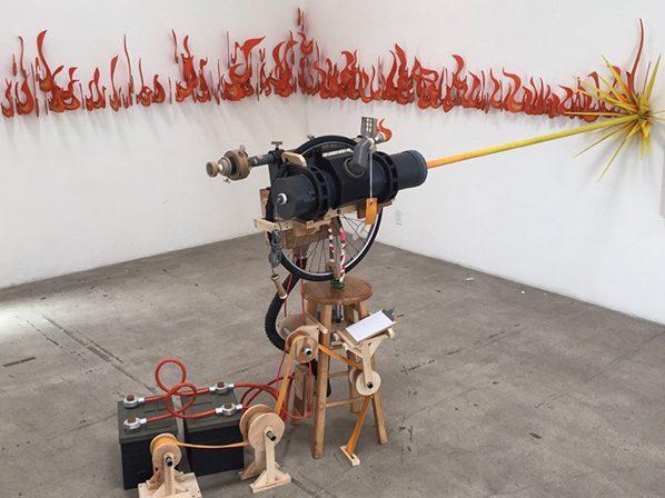 Laser Sculpture : Kiel Johnson