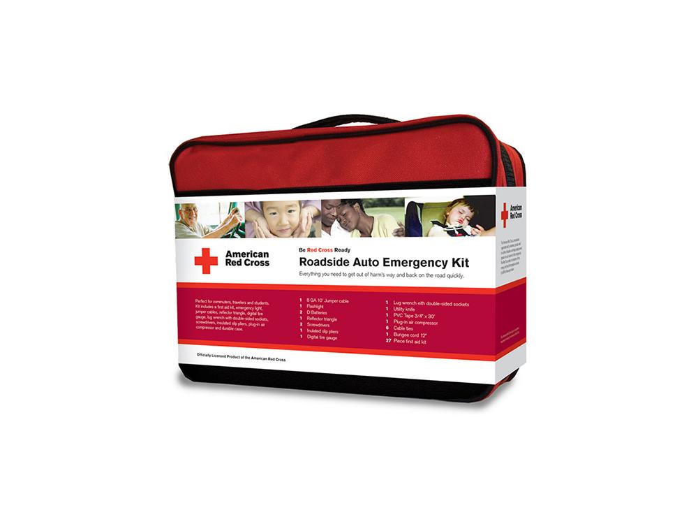 American Red Cross emergency roadside kit : alternatives : branding and design agency based in nyc