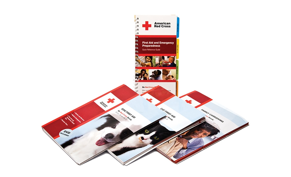American Red Cross first aid and safety book series