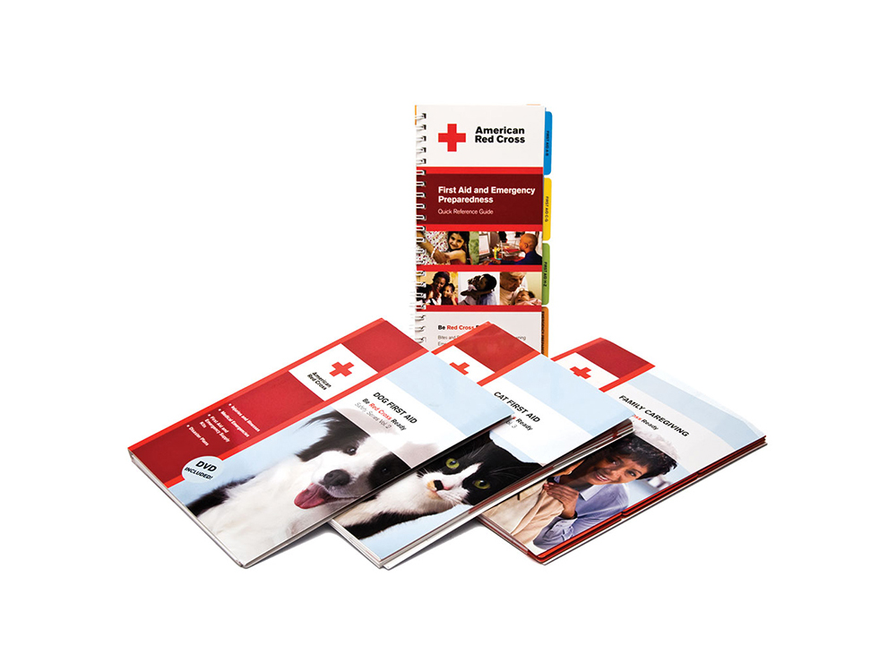 American Red Cross first aid and safety book series : alternatives : branding and design agency based in nyc