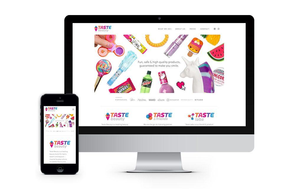 Taste Beauty : Website