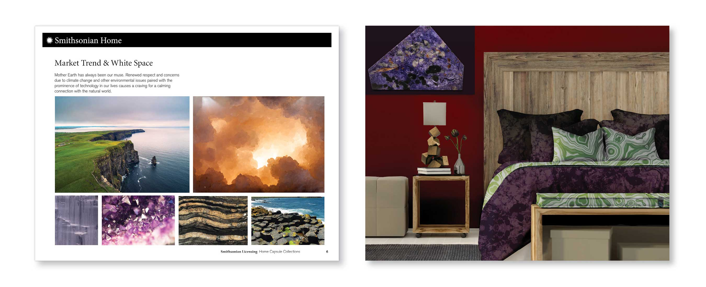 Smithsonian home capsule collection shown: Natural Elements: Gems & Minerals