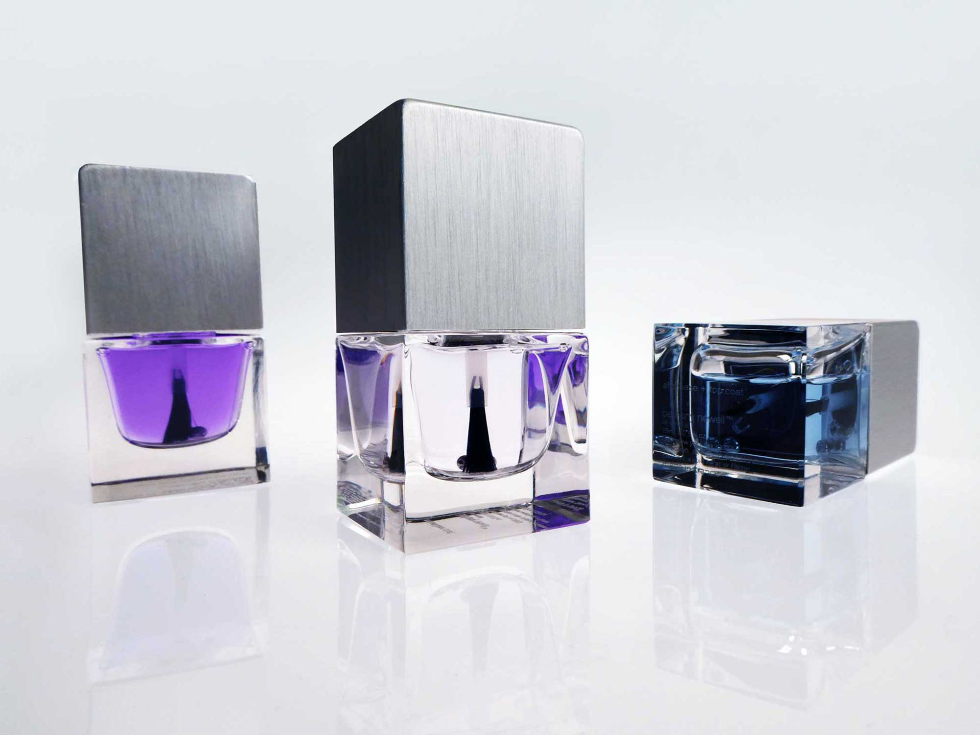 bethany newell: sophisticated website for namesake brand of custom blended nail lacquers