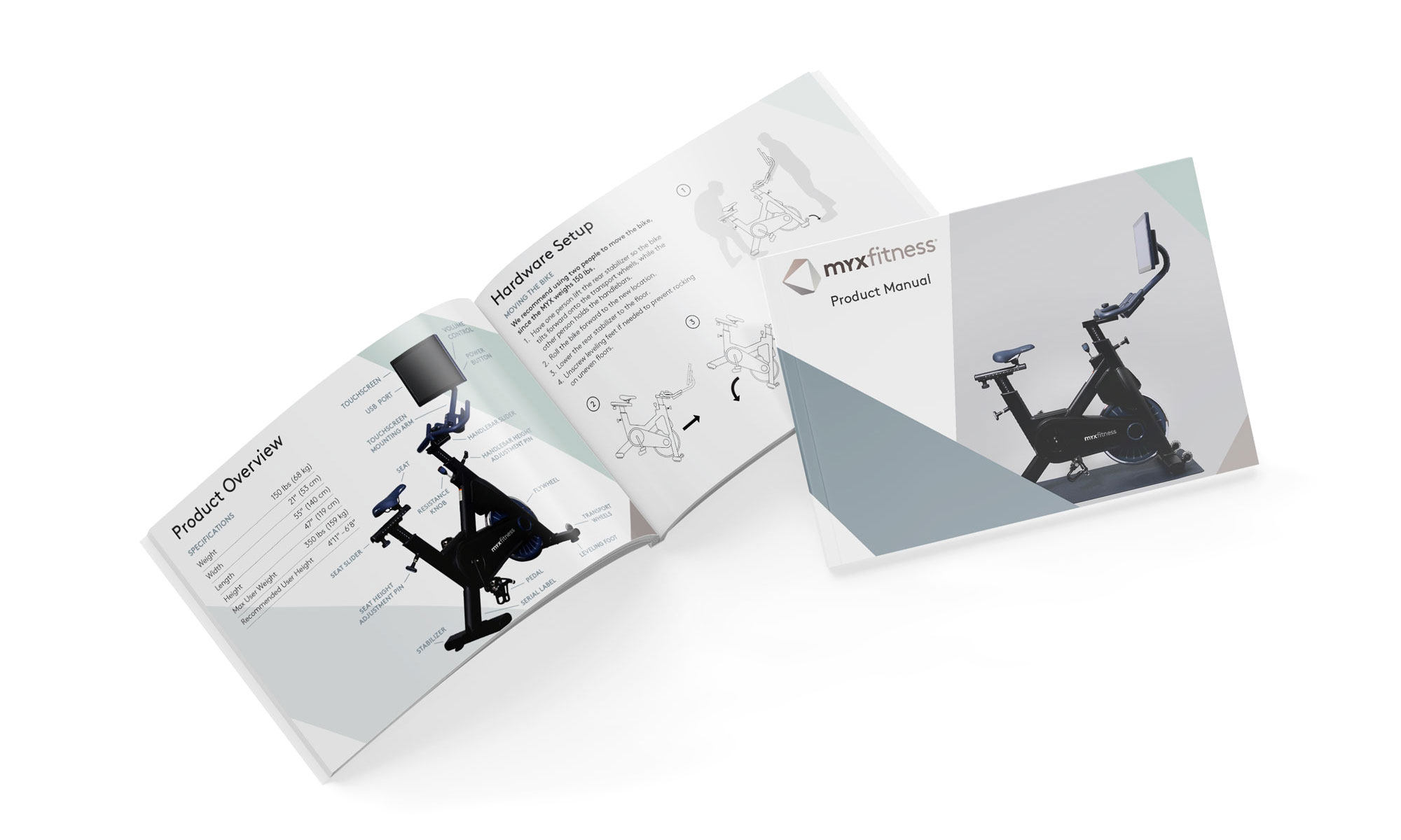MYXfitness user guide and product information manual
