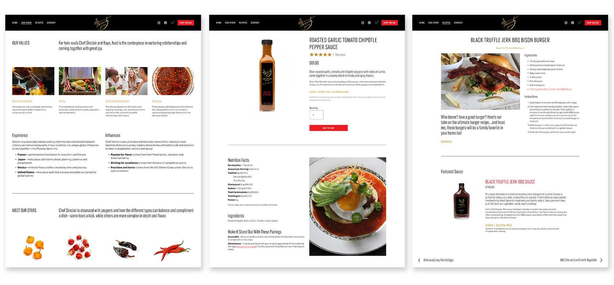Our approach was to create a site that is visually engaging and content rich, where visitors can easily find the information they are looking for—from flavor profiles and pairings to reviews and recipes.