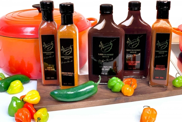 3TwentySpice : bringing a bold, yet approachable, brand with robust flavors and signature spices to market